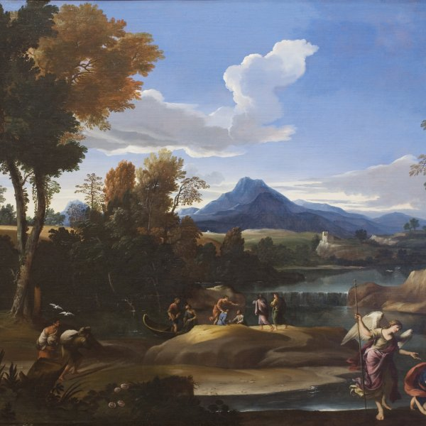 Landscape with Tobias and the Archangel Raphael