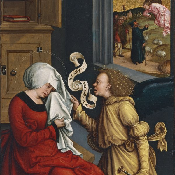 The Annunciation to Saint Anne