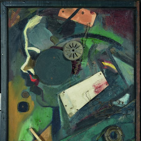 Kurt schwitters merzbild reflects what artistic influence in its use of collage elements