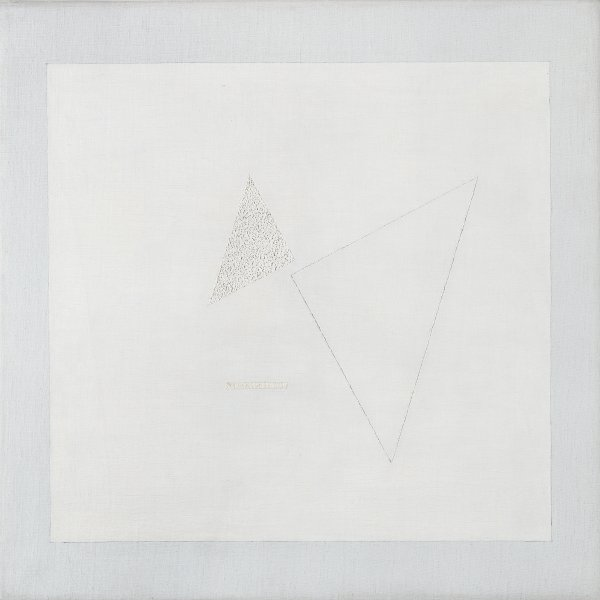 Composition No. 104. White on White