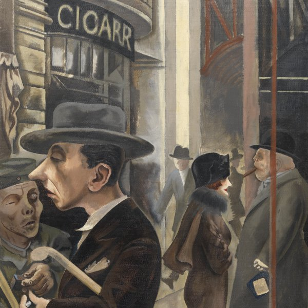 Exhibition Streets and faces of Berlin in the Thyssen-Bornemisza Collections