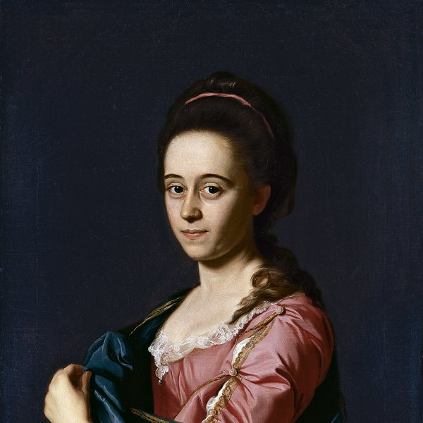 Portrait of Mrs. Joshua Henshaw II (Catherine Hill)