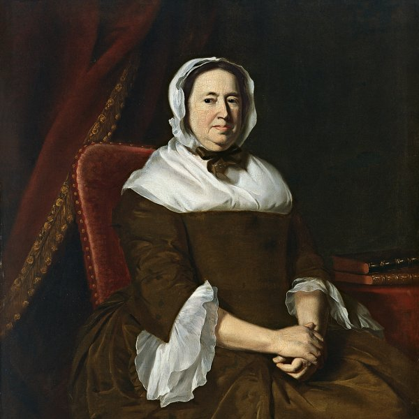 Portrait of Mrs. Samuel Hill (Miriam Kilby)