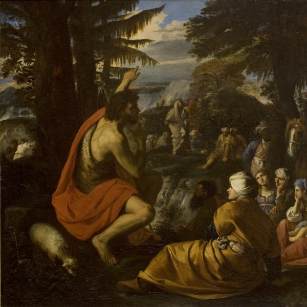 Saint John the Baptist Preaching in the Desert