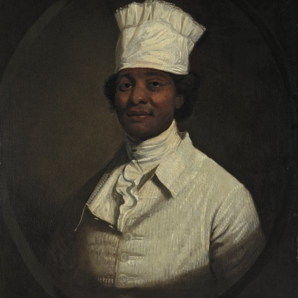 Retrato del cocinero de George Washington