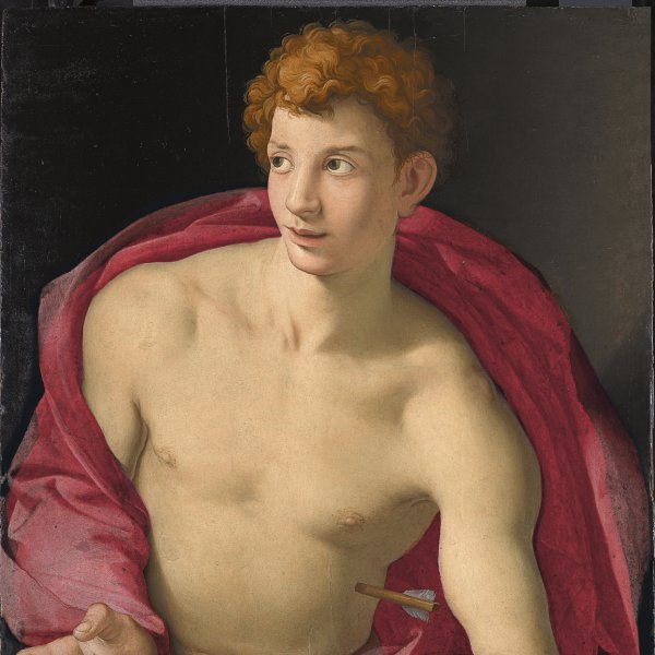 Portrait of a young Man as Saint Sebastian