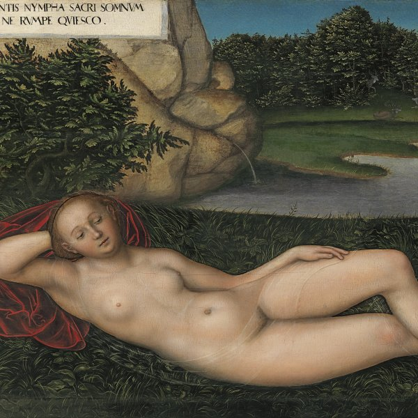 The Nymph at the Fountain
