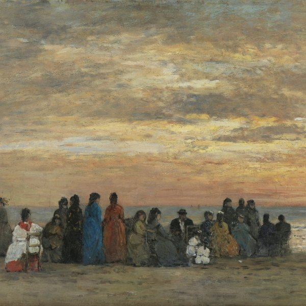 Monet/Boudin exhibition