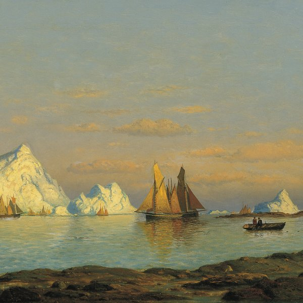 Fishermen off the Coast of Labrador