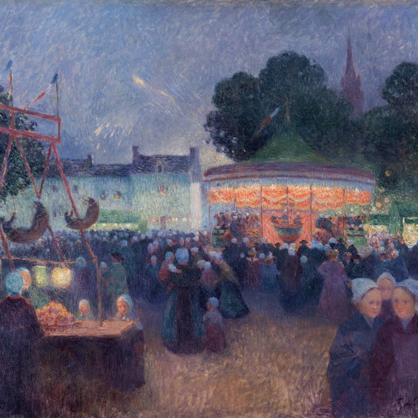 Night Fair at Saint-Pol-de-Léon