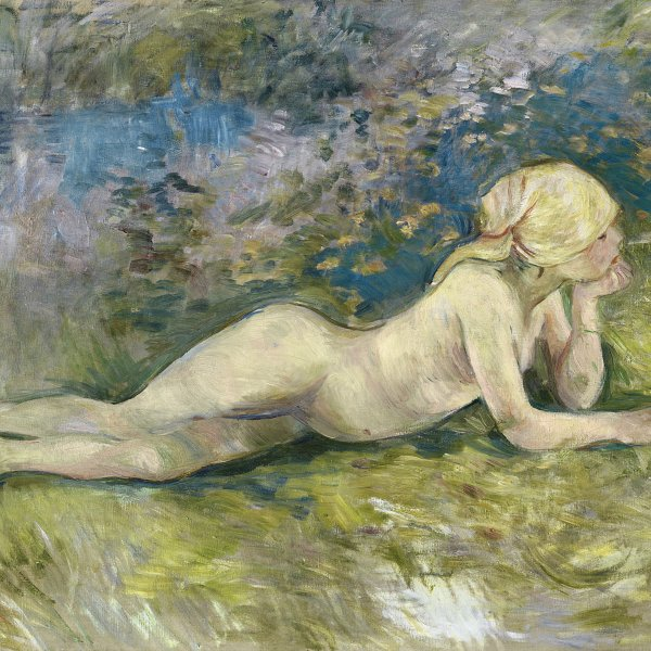 Reclining Nude Shepherdess