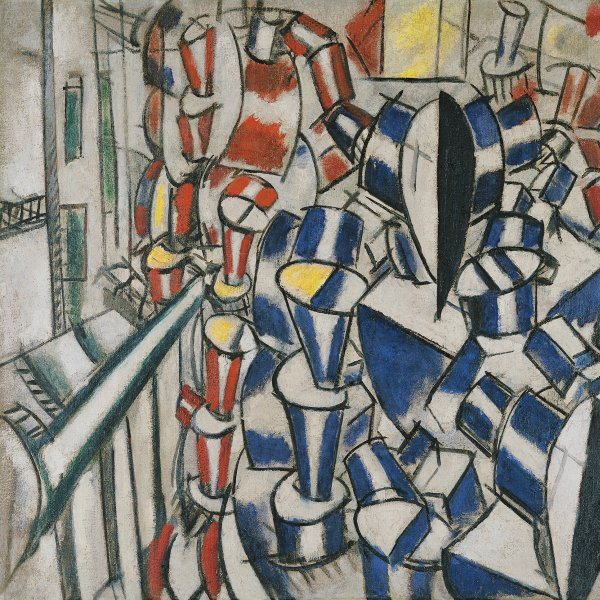 Analytical support for the study and restoration project concerning a work by Fernand Léger