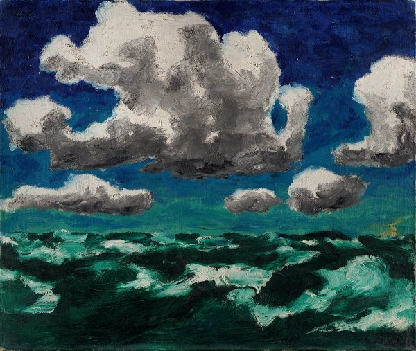 Summer Clouds. Nubes de verano, 1913