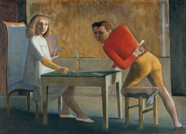 The Card Game. La partida de naipes, 1948-1950
